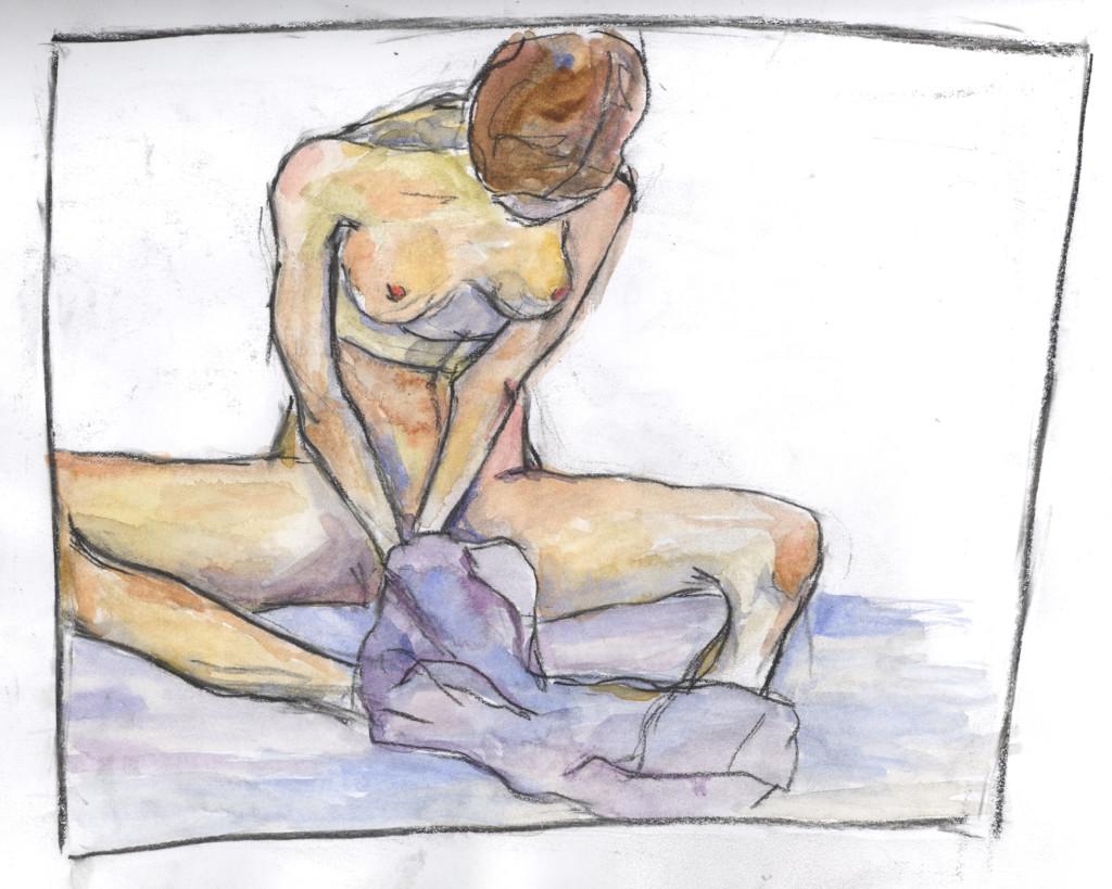 Egon Schiele Study